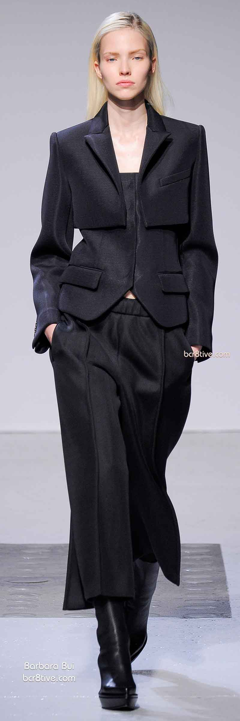 Fall 2014 Menswear Inspired Fashion - Barbara Bui