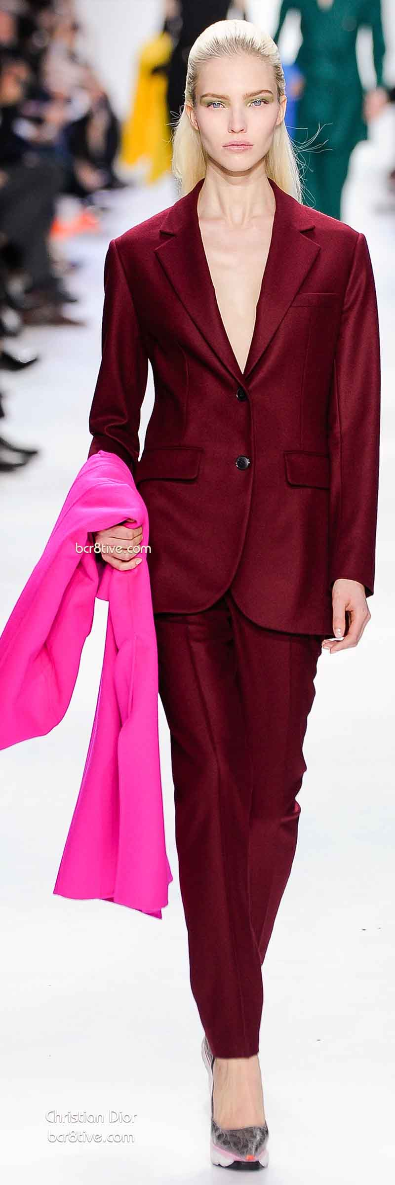 Fall 2014 Menswear Inspired Fashion - Christian Dior
