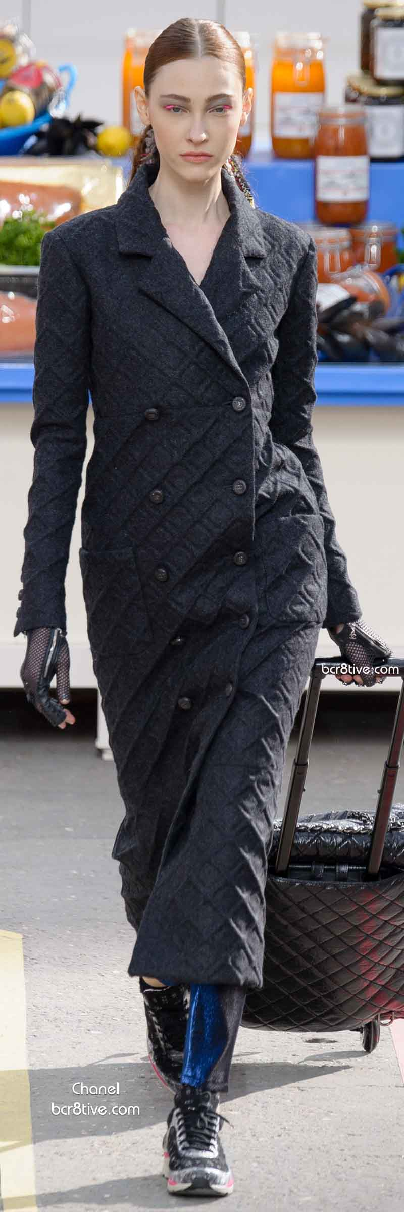 Fall 2014 Menswear Inspired Fashion - Chanel