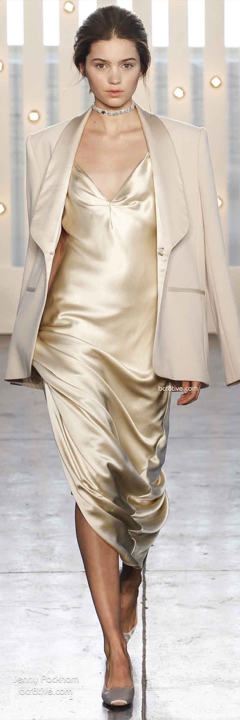 Fall 2014 Menswear Inspired Fashion - Jenny Packham
