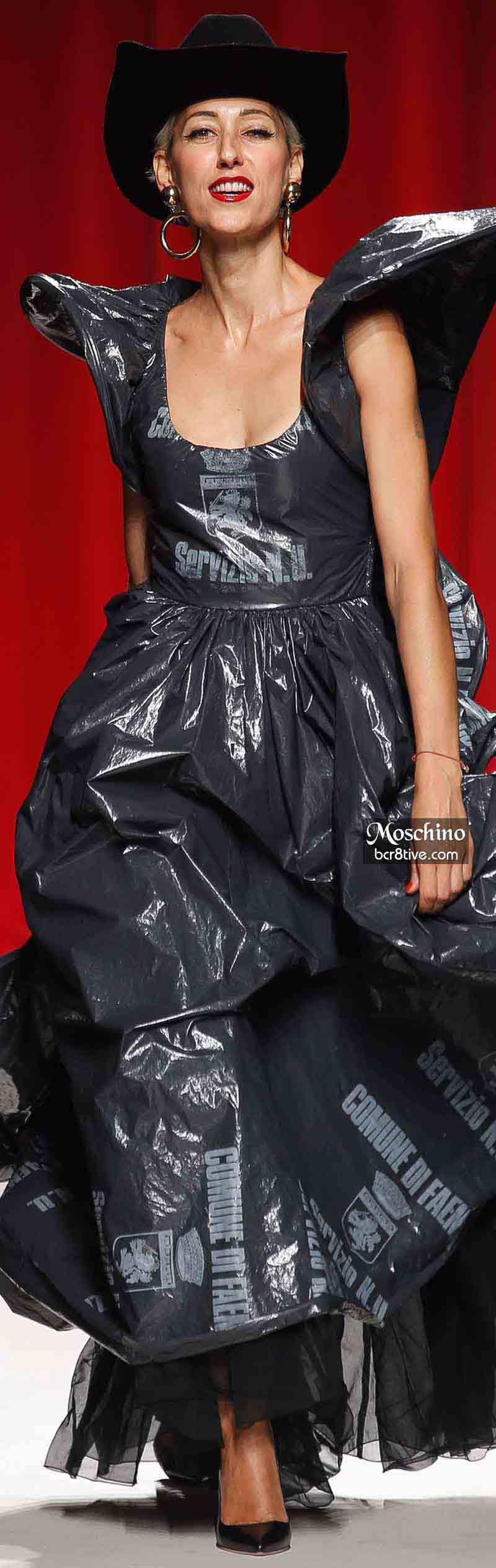 Moschino Spring 2014 - Gisele Zelany