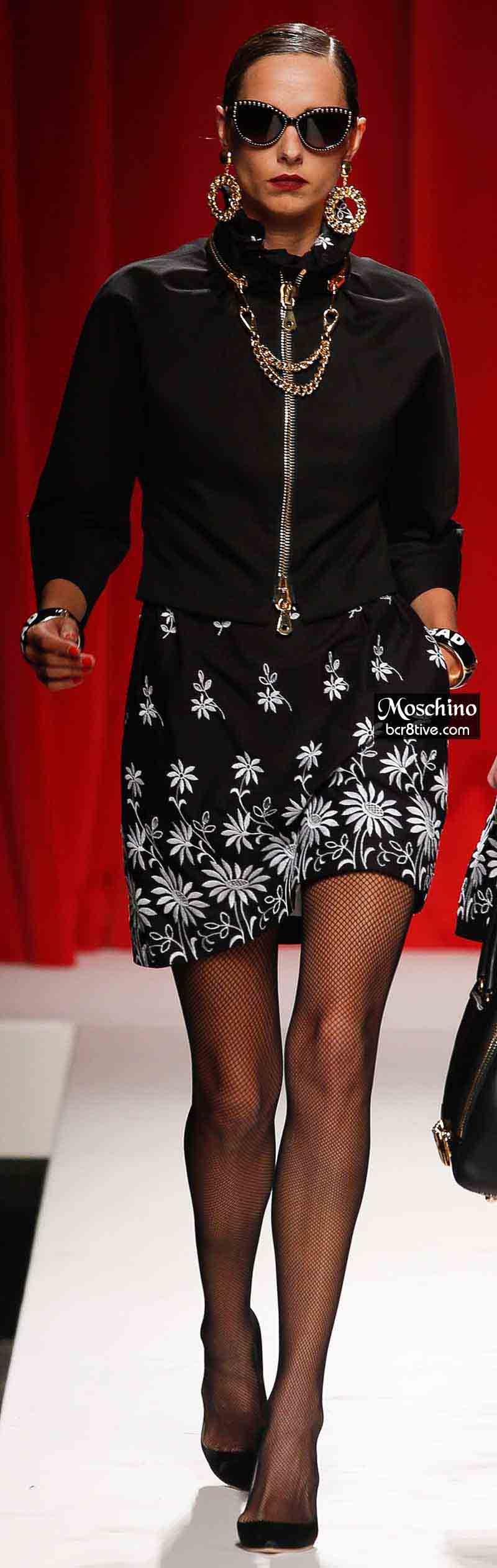 Moschino Spring 2014