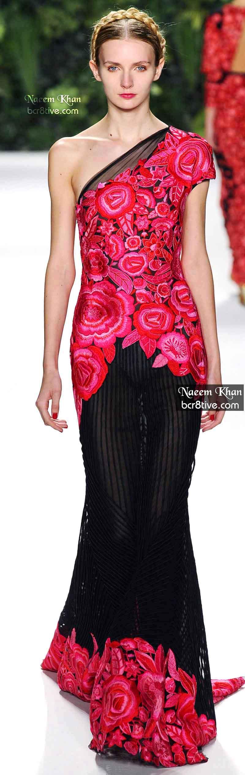 Naeem Khan Spring 2014 #NYFW