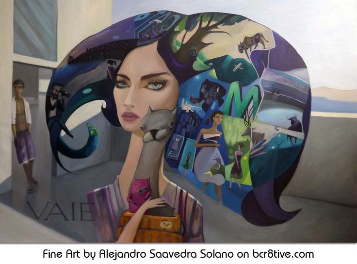 The Art of Alejandro Saavedra Solano - Vaie