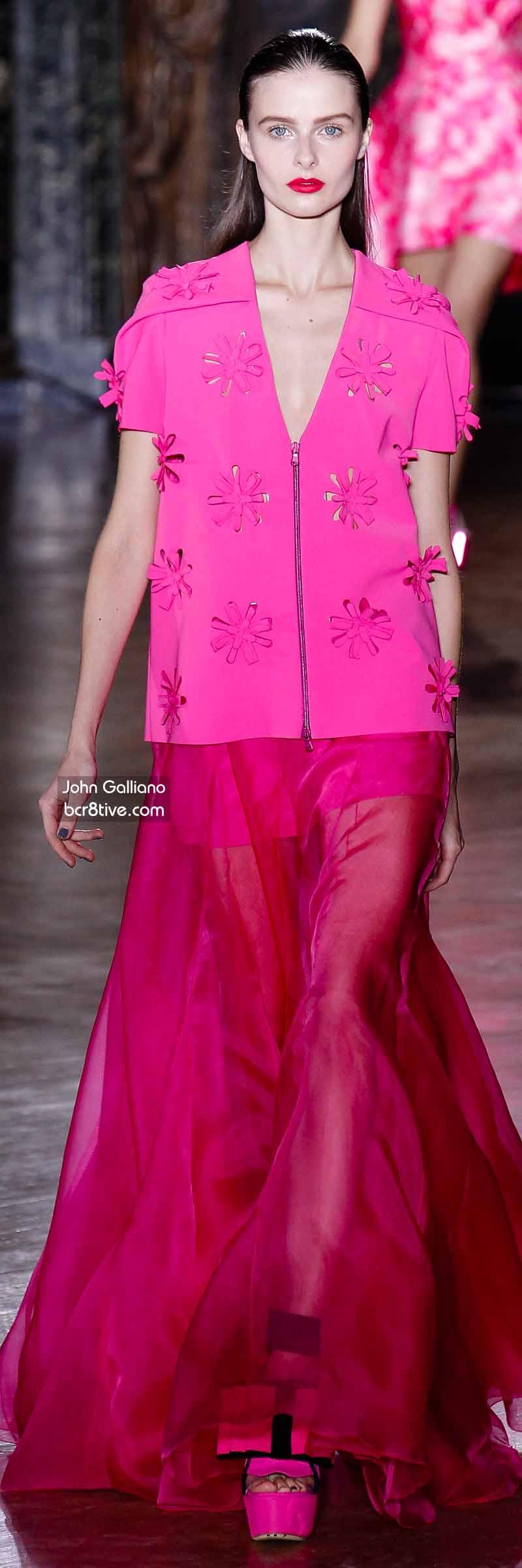 John Galliano - Hot Pink