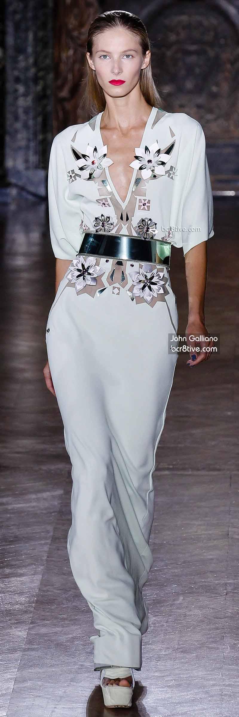 John Galliano Evening Gown