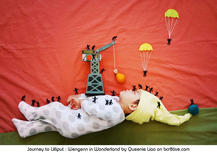Journey to Lilliput - Creative Baby Photography by Sioin Queenie Liao