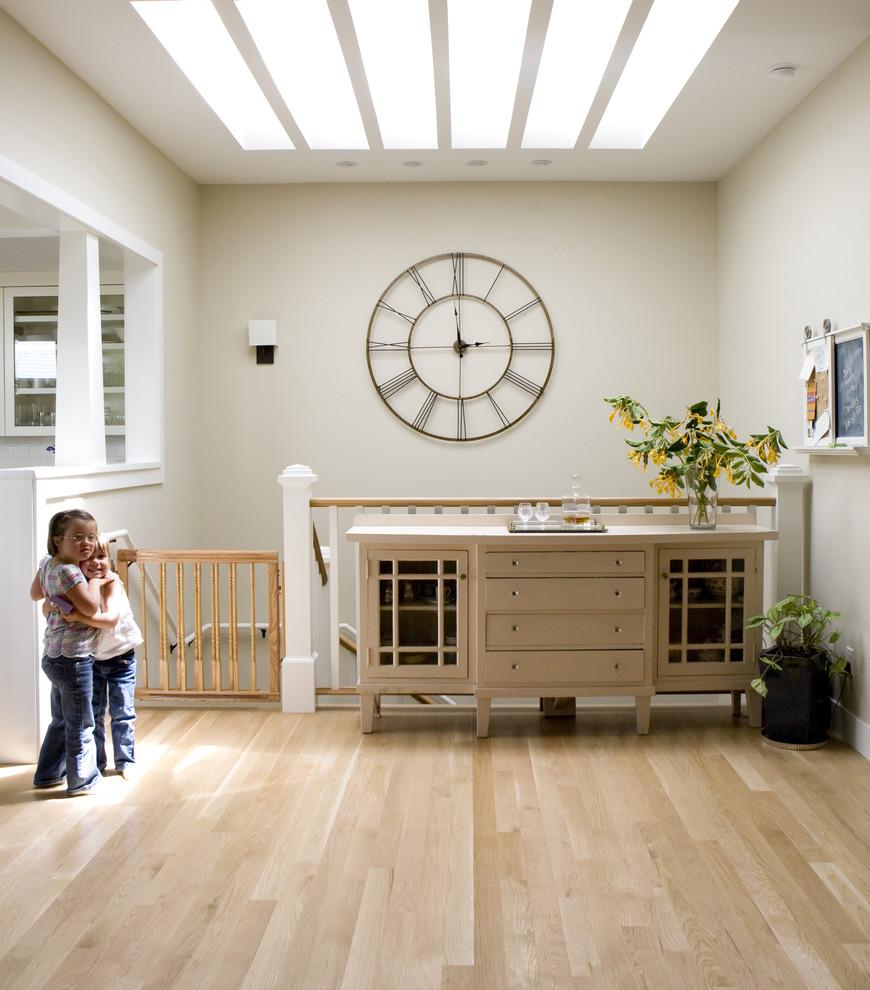 Postema Howard Miller Clock in Interior Designed Room by Boor Bridges Architecture