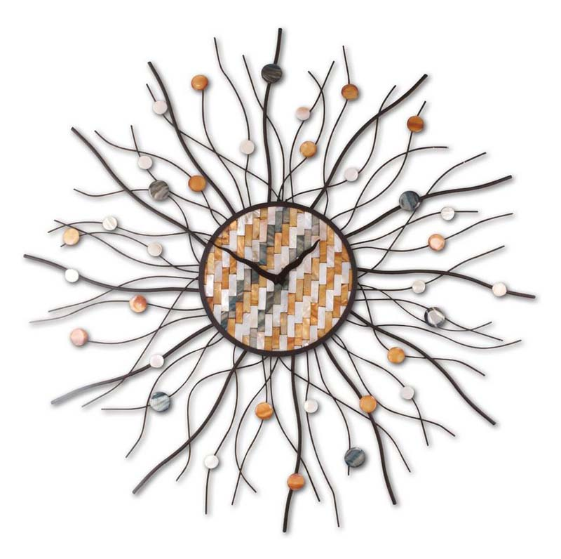 Spectacular Sunsburst Clock