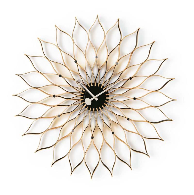 Sunflower Clock by Irving Harper
