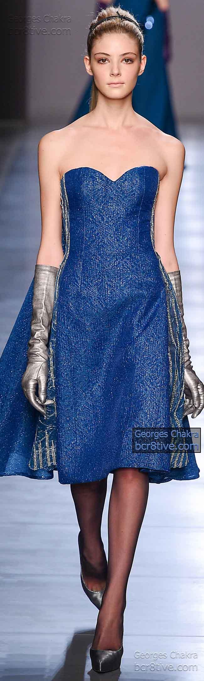 Debutante Style Blue