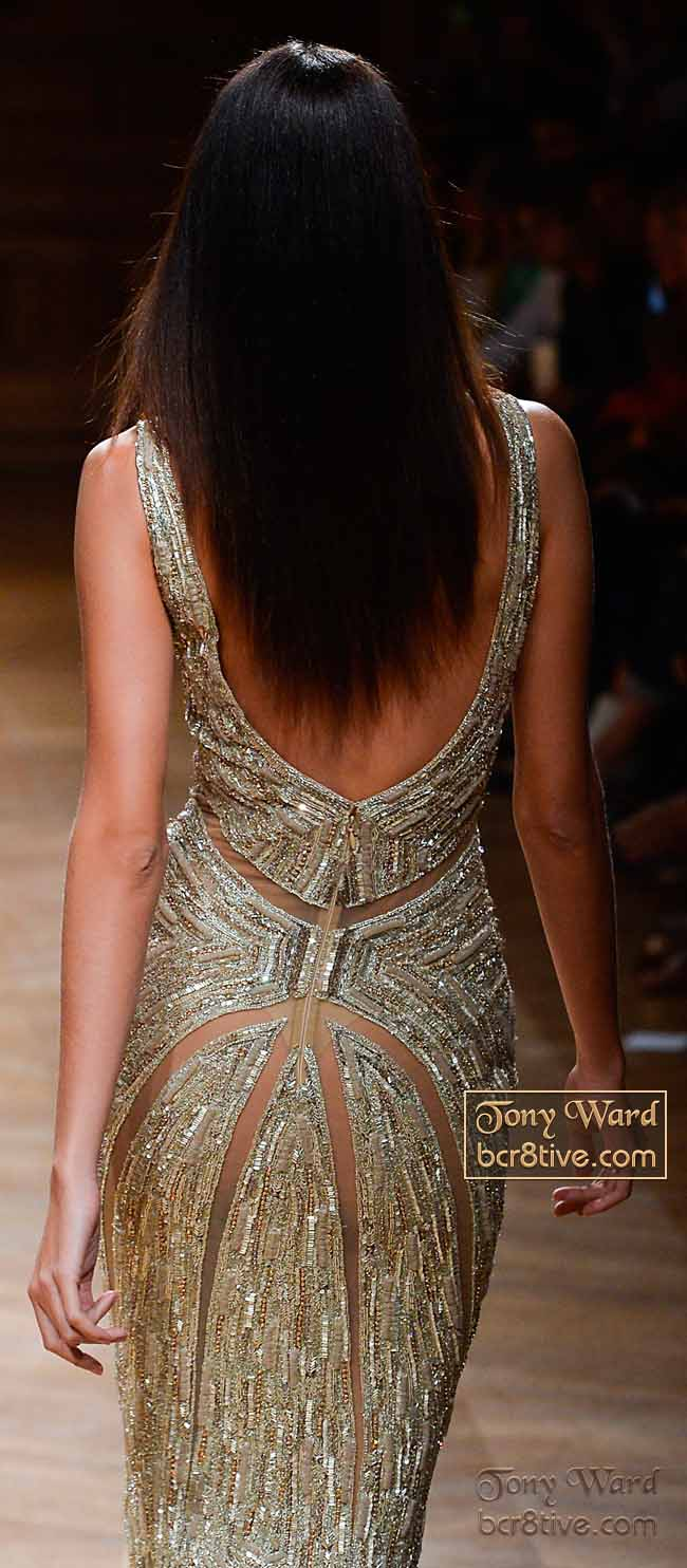 Mermaid Style Bead Encrusted Evening Gown