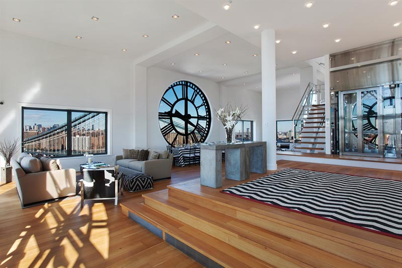 Inside the Clock Tower Penthouse New York