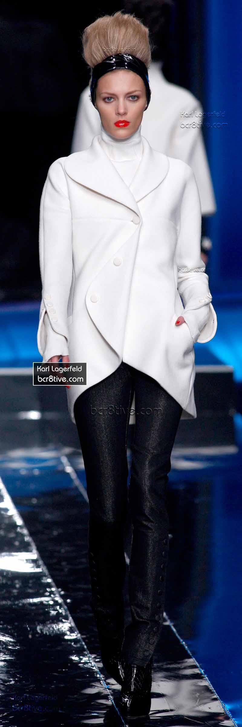 Karl Lagerfeld Street Styles