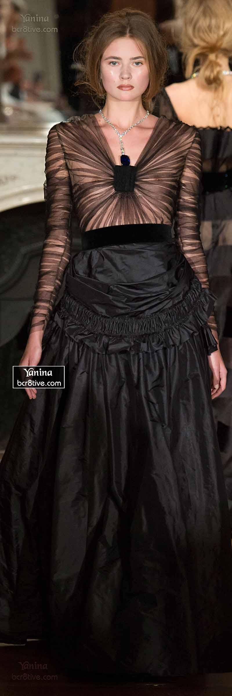 Yanina Fall 2014-15 Haute Couture