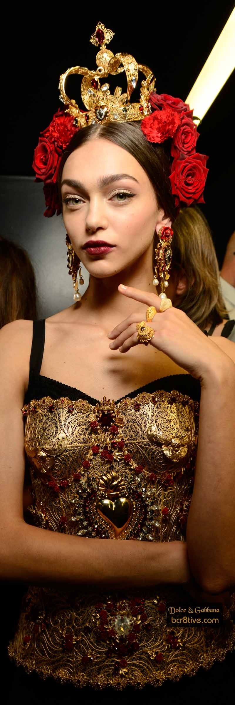 Dolce and Gabbana Spring 2015 Milan