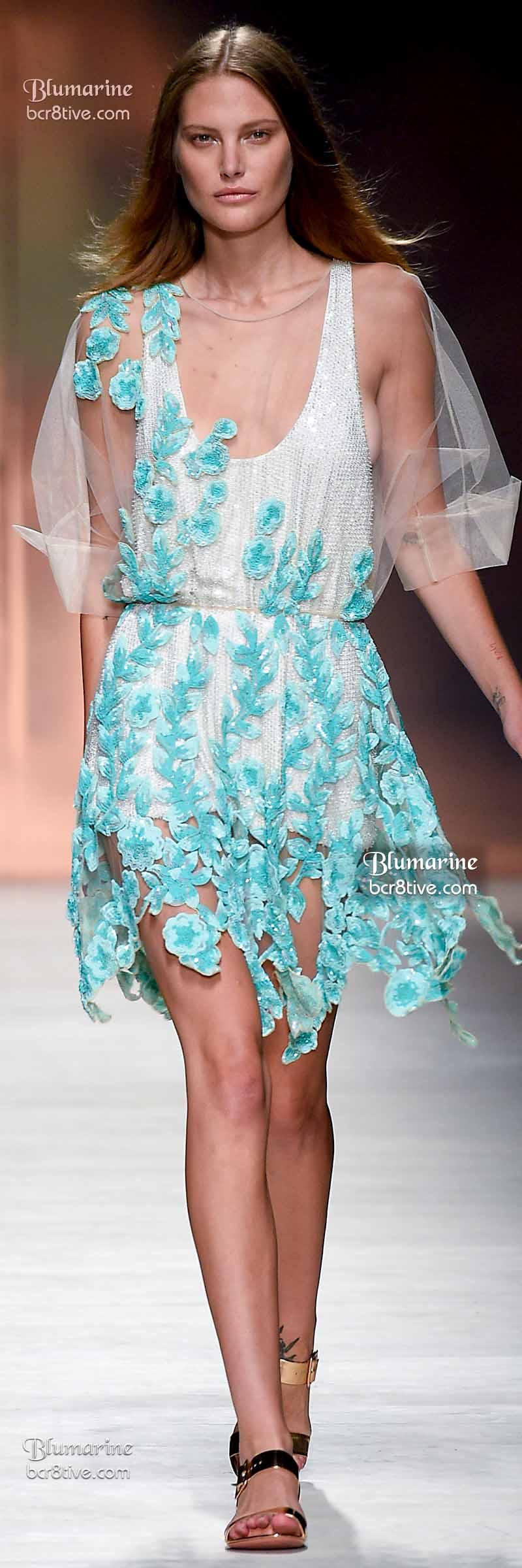 Blumarine Spring 2015 RTW