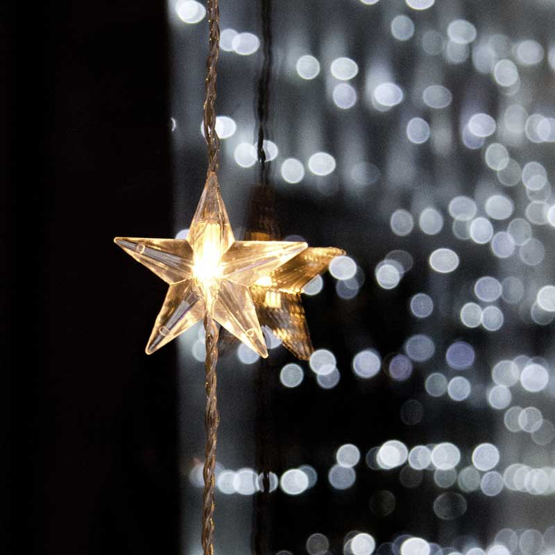 Star Curtain Light
