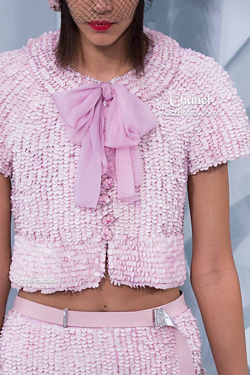 Chanel Spring 2015 Couture Texture Details