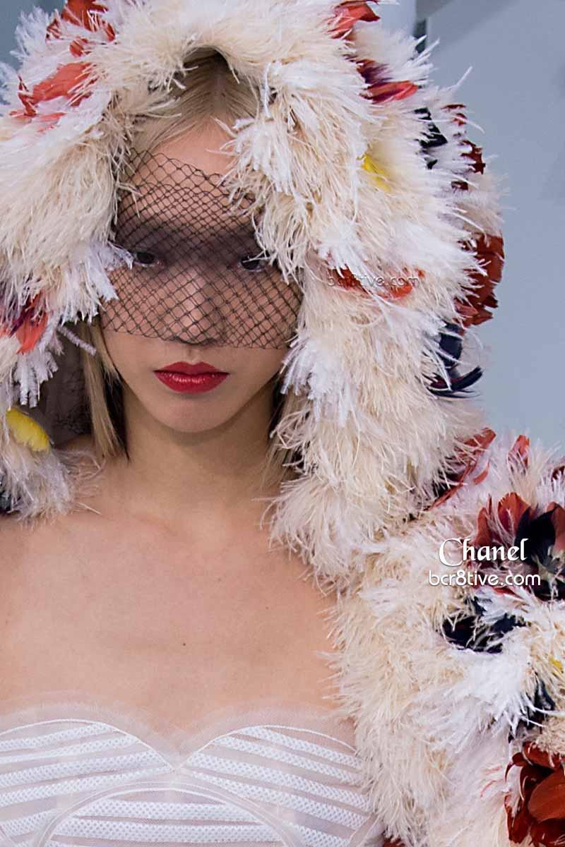 Chanel Shaggy Demi-Coat