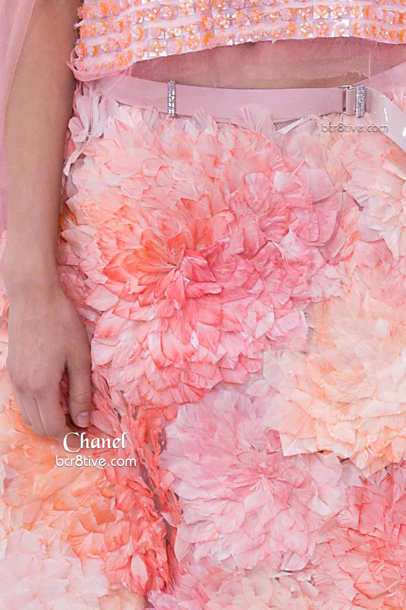 Exquisite Blooms - Chanel SS15 Couture