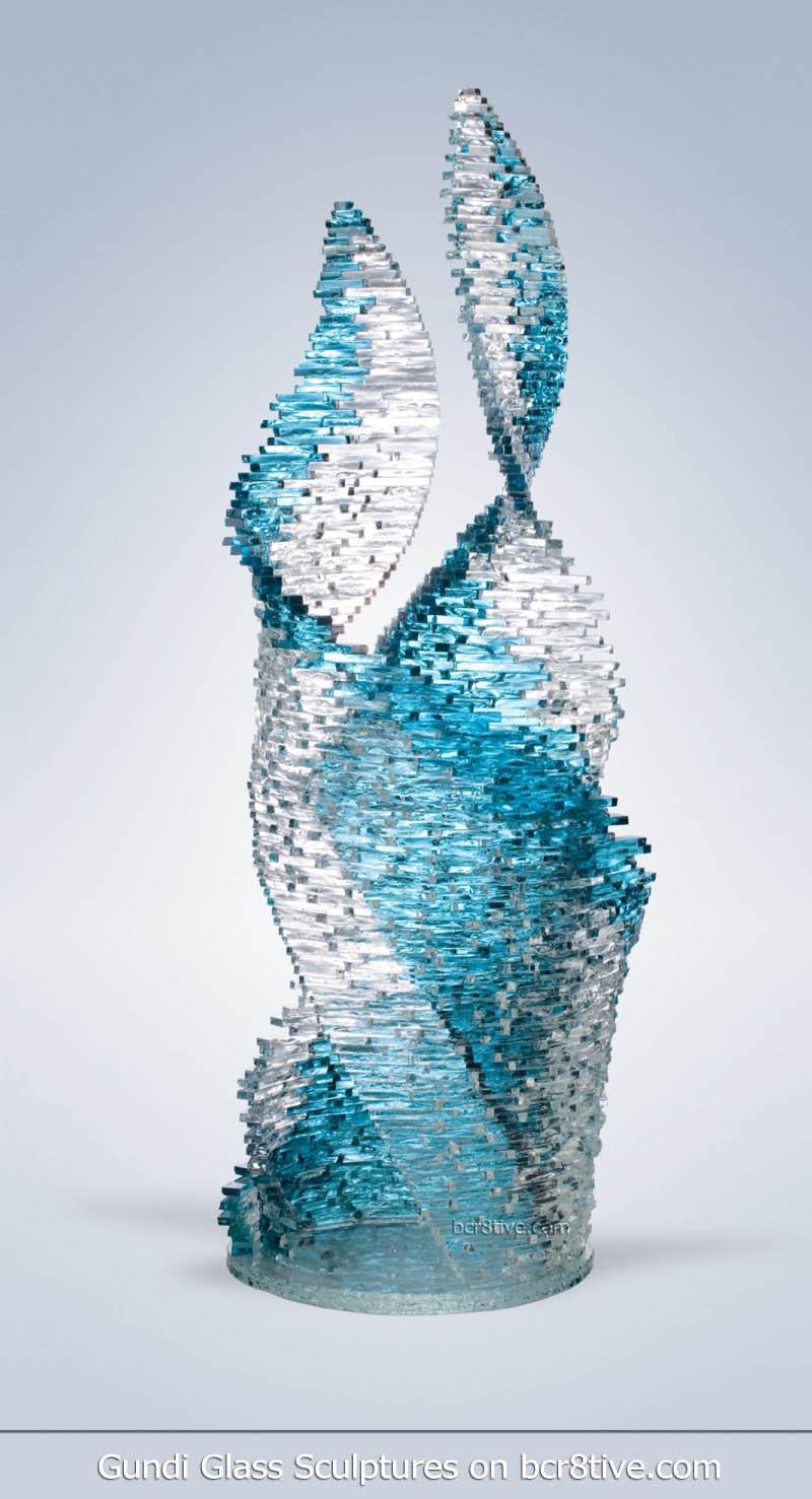 Gundi Glass Sculptures Dancers