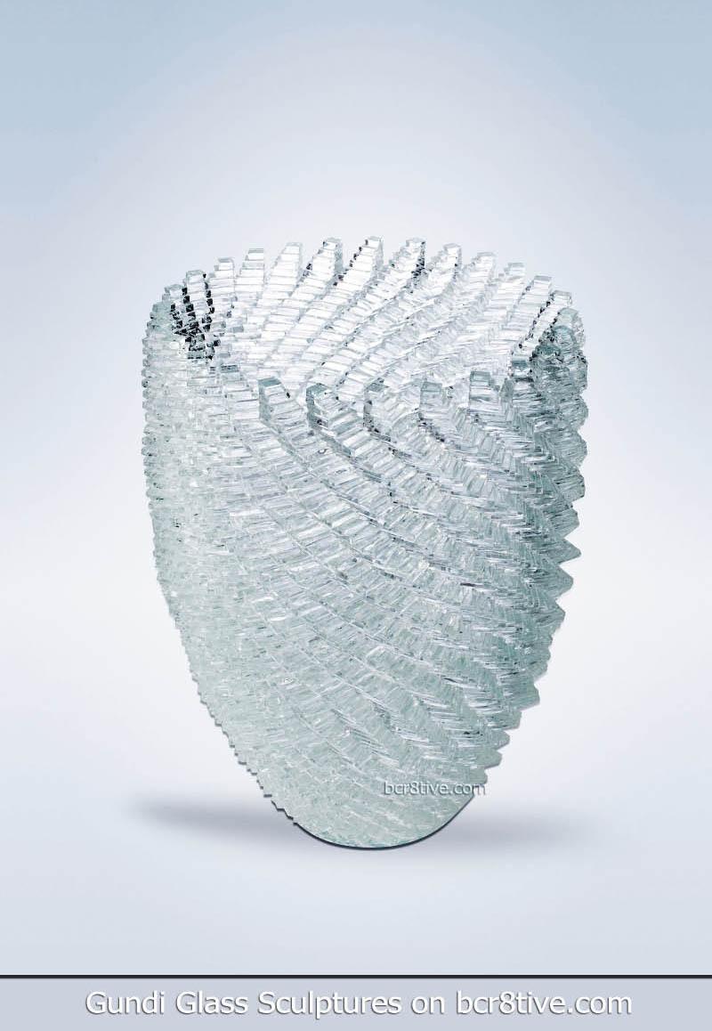Gundi Glass Sculptures Pineapple