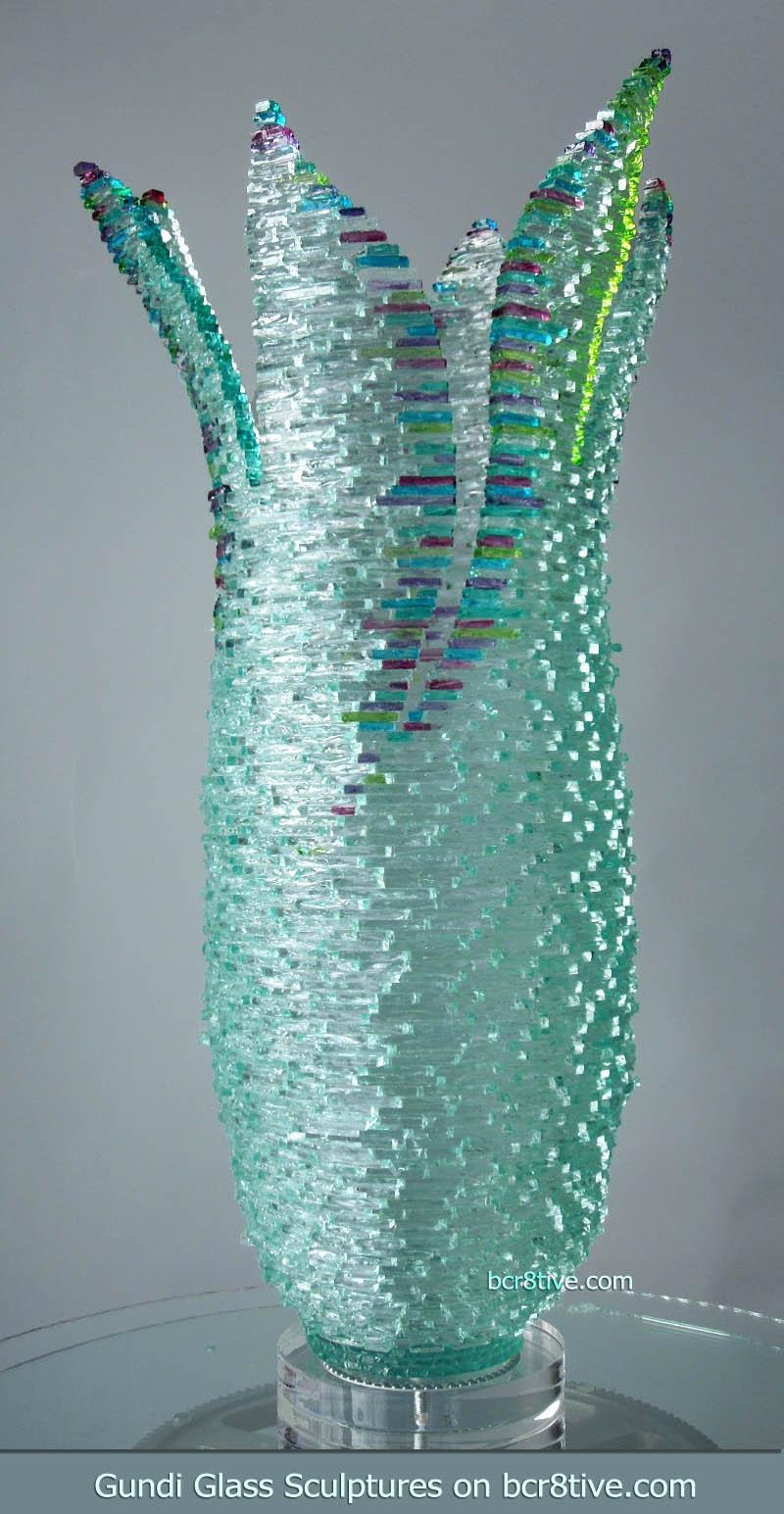 Gundi Glass Sculptures Wildfire