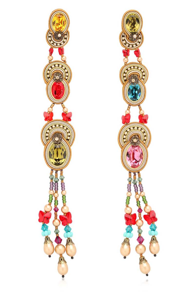 Dori Csengeri Baroque Earrings