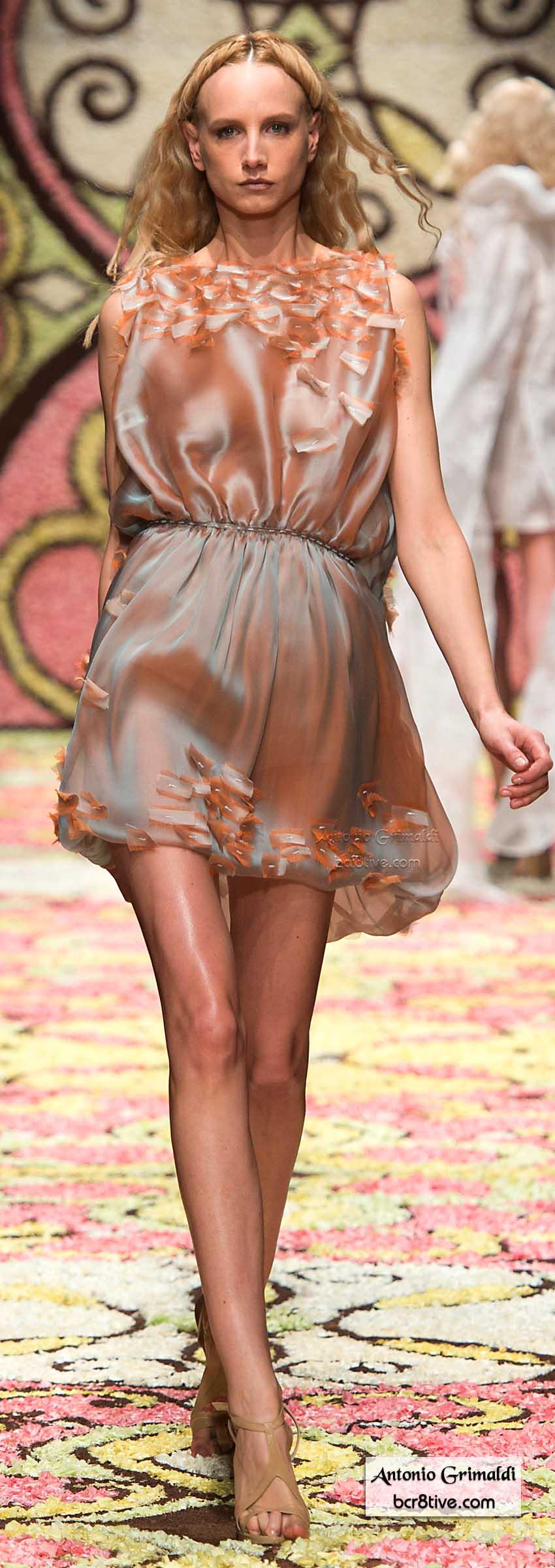 Antonio Grimaldi Spring 2015 Haute Couture