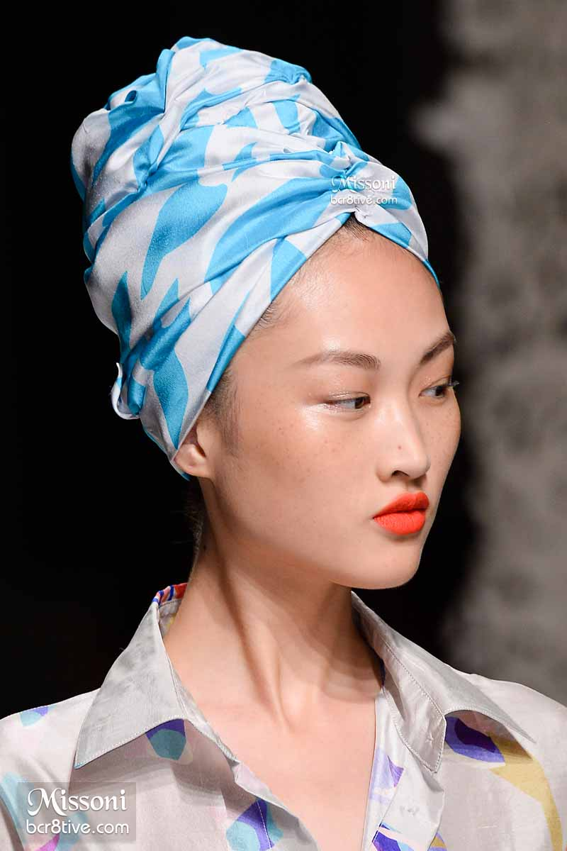 Missoni Spring 2015 - Hair Turban