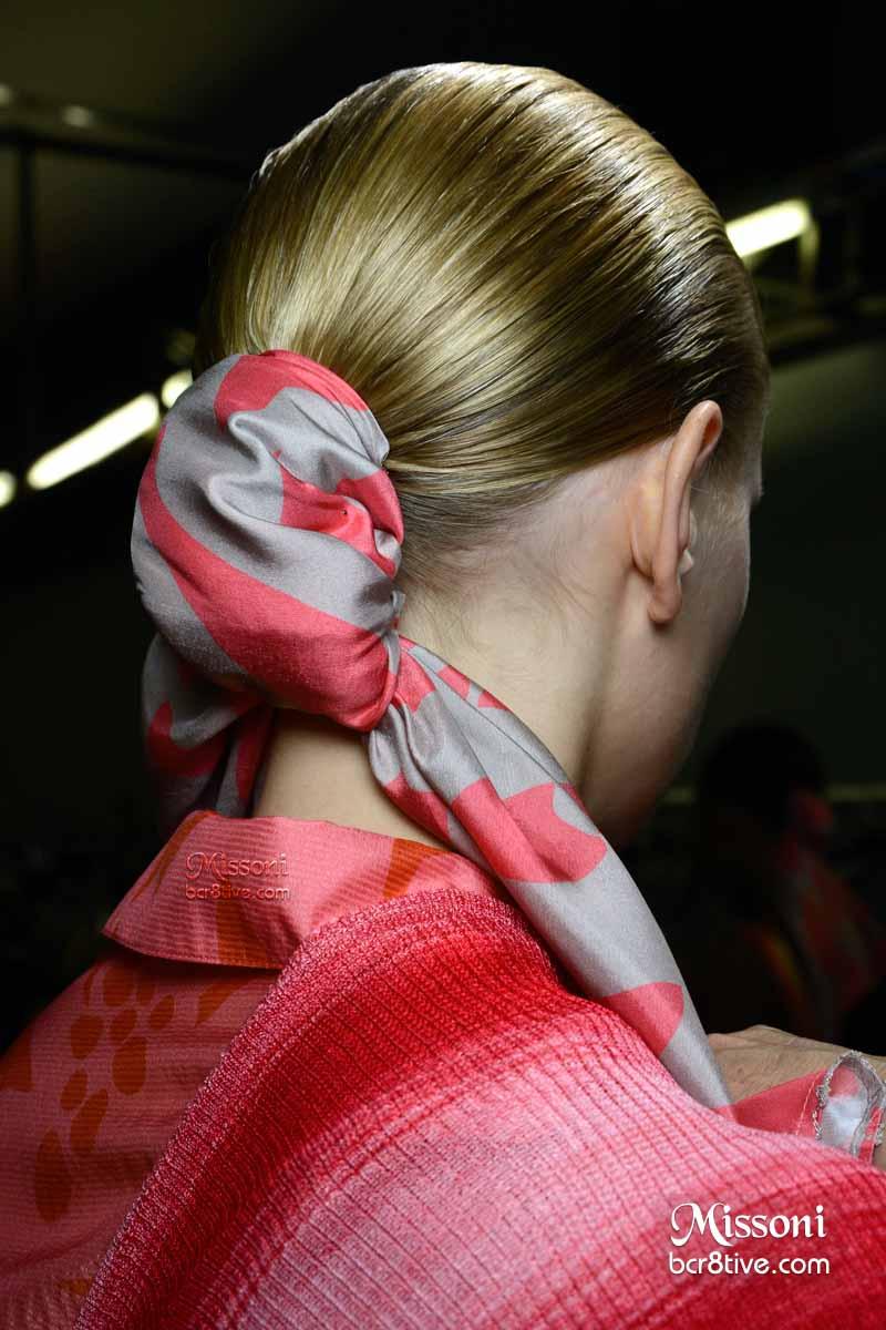 Missoni Spring 2015 - Scarf Hair Tie