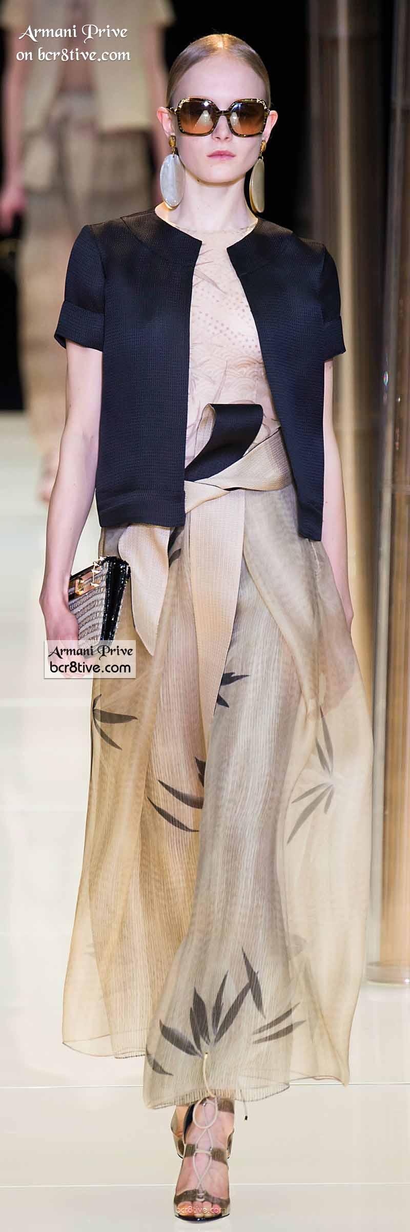 Armani Privé Spring 2015 Couture