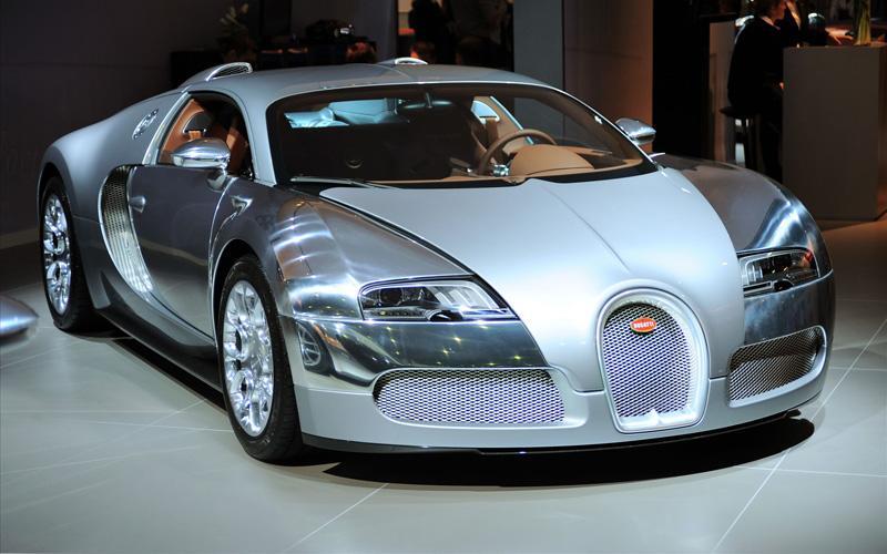 "2010 Bugatti Veyron ""Sang D'Argent"""