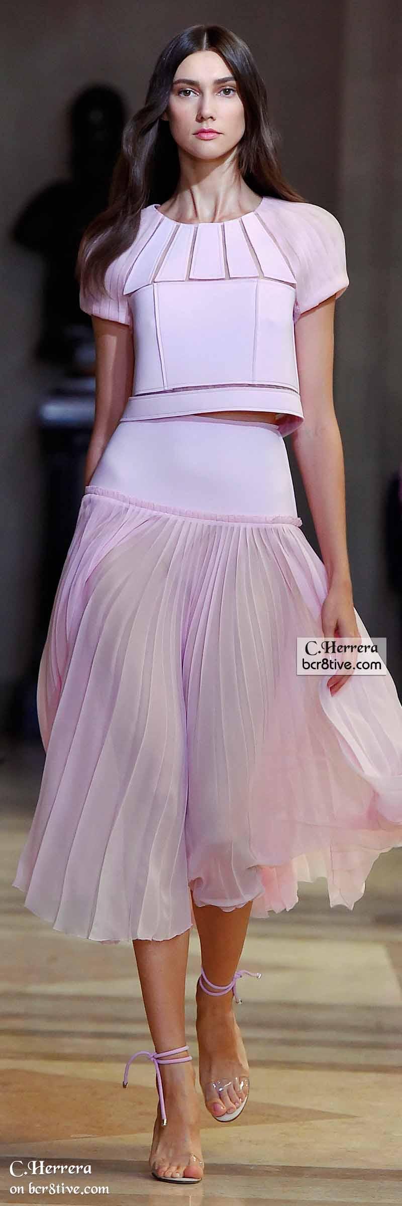Carolina Herrera Spring 2016