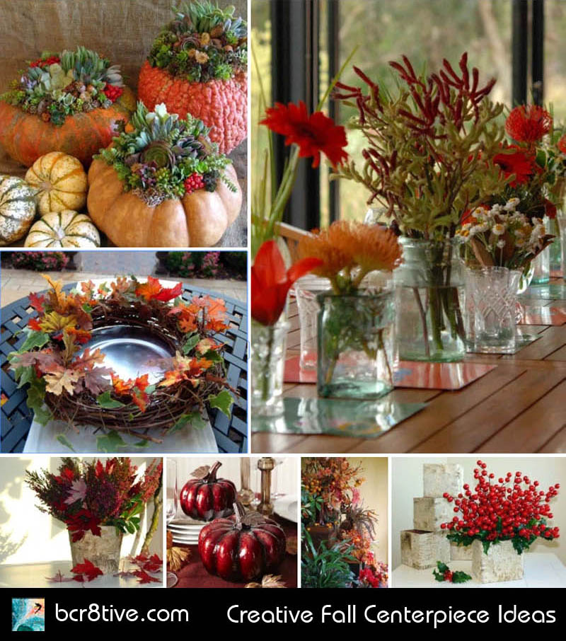 Creative Fall Centerpiece Ideas
