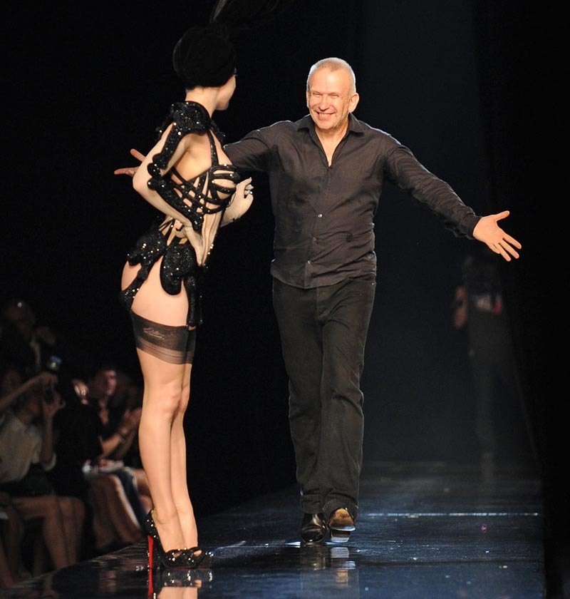 Jean Paul Gaultier Skeleton Corset for Dita Von Teese