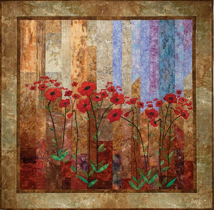 Cathy Geier Midnight Poppies
