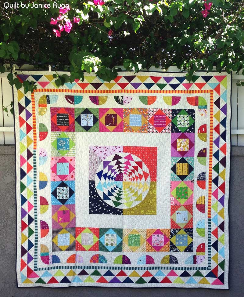 Janice Ryan - Right Round Medallion Quilt