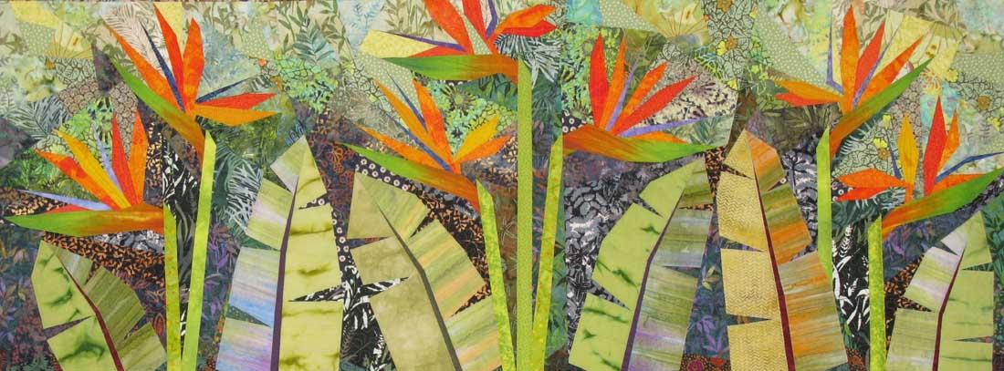 Terry Aske - Paradise Garden Quilt