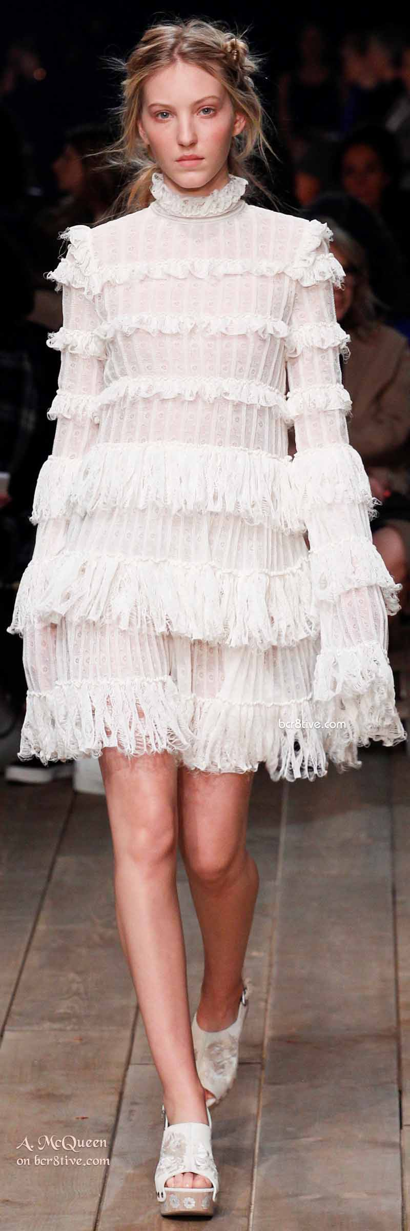 Hoboish Knit Ruffles - The Best of Alexander McQueen 2016