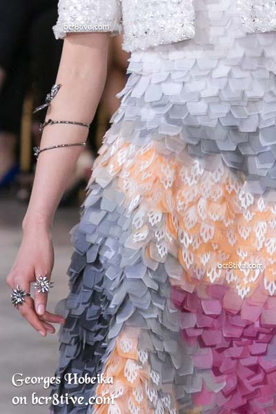 Gorgeous 3D Textures - Georges Hobeika Fall 2016 Haute Couture Details