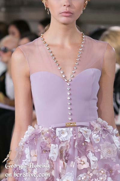 Georges Hobeika Fall 2016 Haute Couture Details