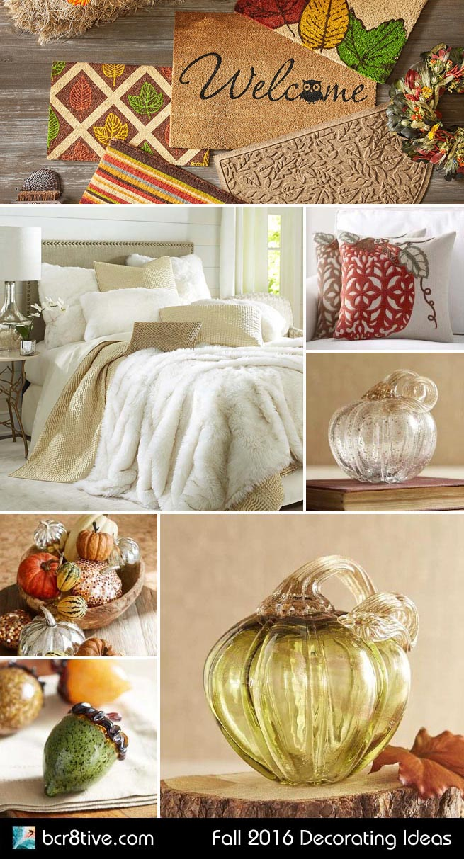 Fall 2016 Decorating Ideas