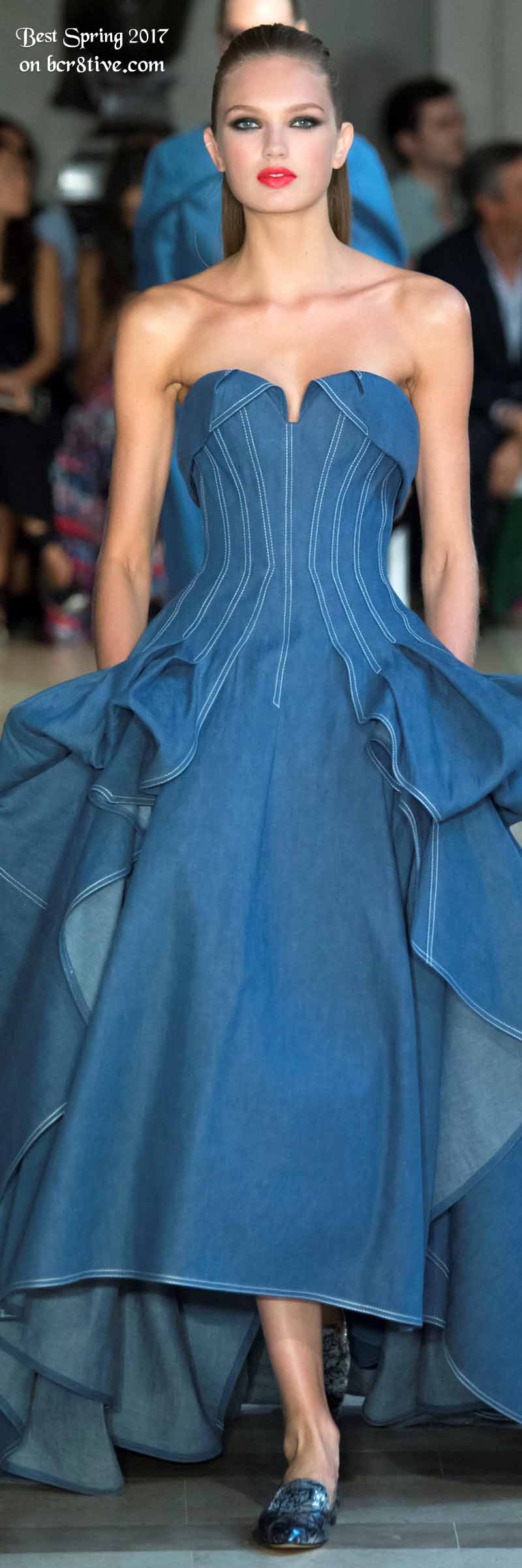 Carolina Herrera - The Best Looks from New York Fashion Week Spring 2017