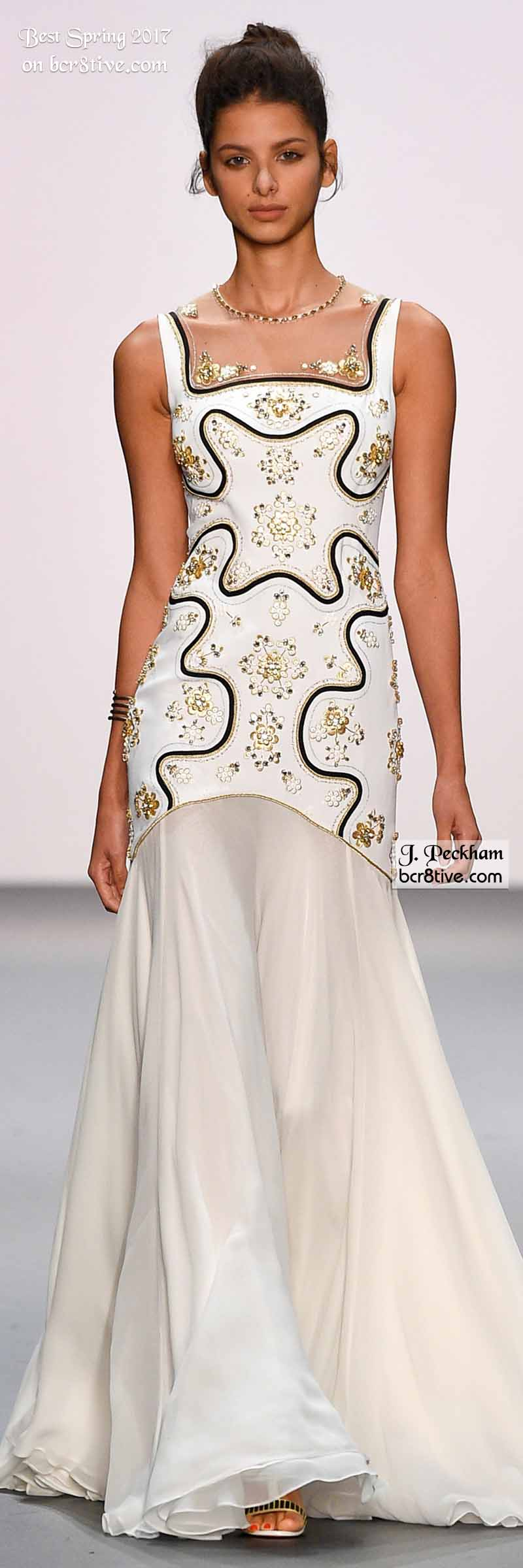 Jenny Packham - Best Looks from New York Fashion Week Spring 2017