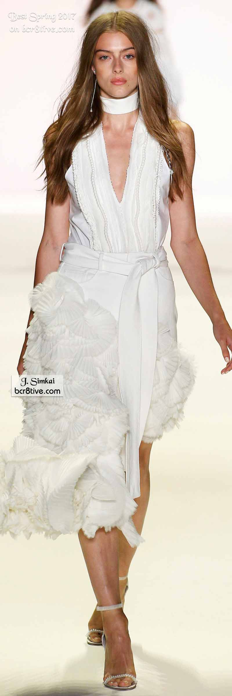 Jonathan Simkhai - The Best Looks from New York Fashion Week Spring 2017