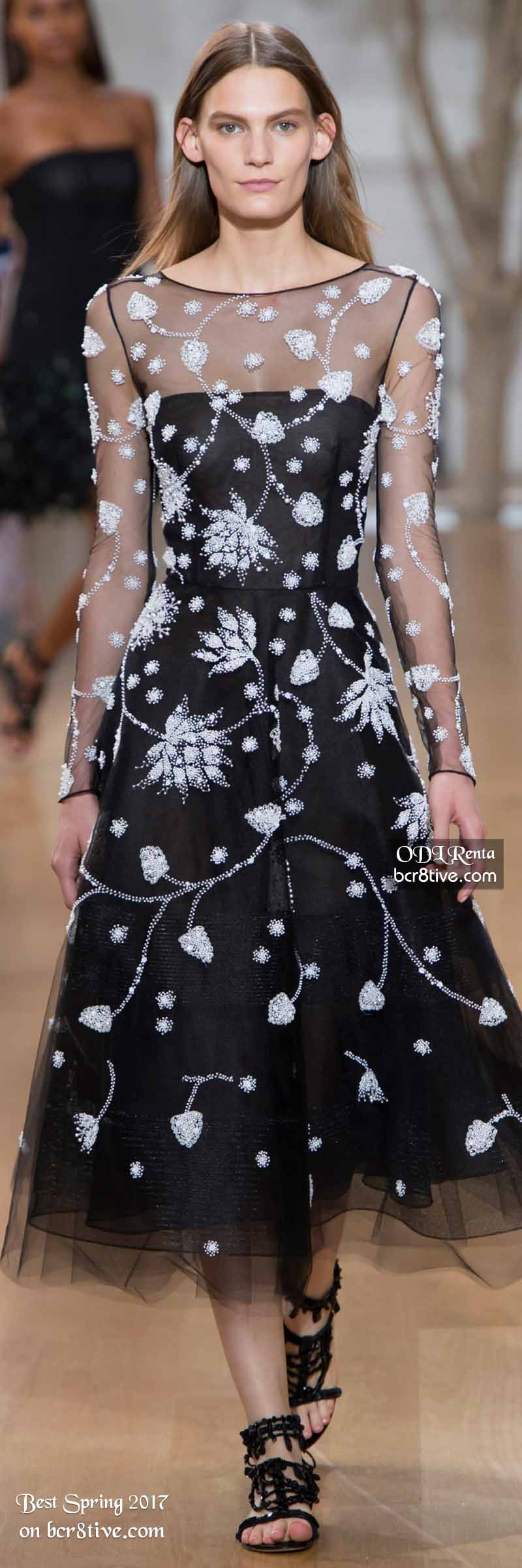 Oscar de la Renta - The Best Looks from New York Fashion Week Spring 2017