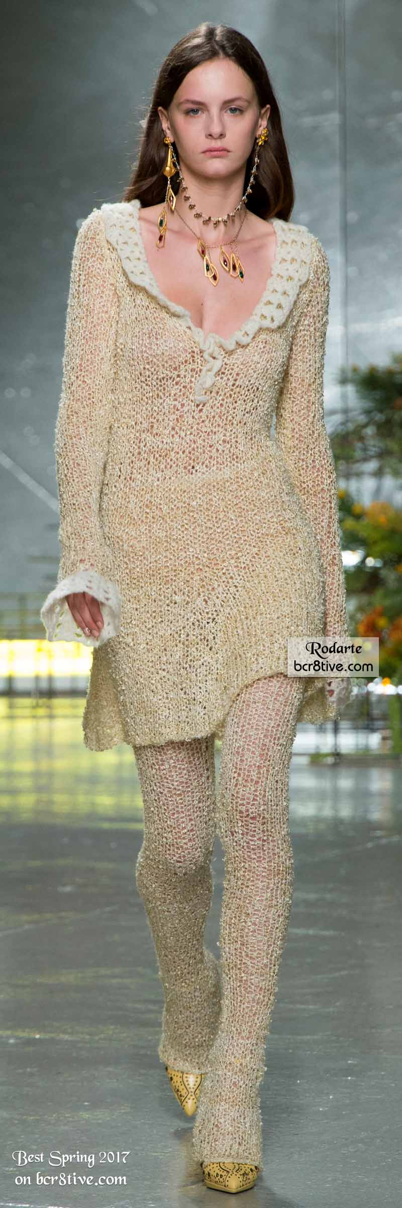 Rodarte - The Best Looks from New York Fashion Week Spring 2017