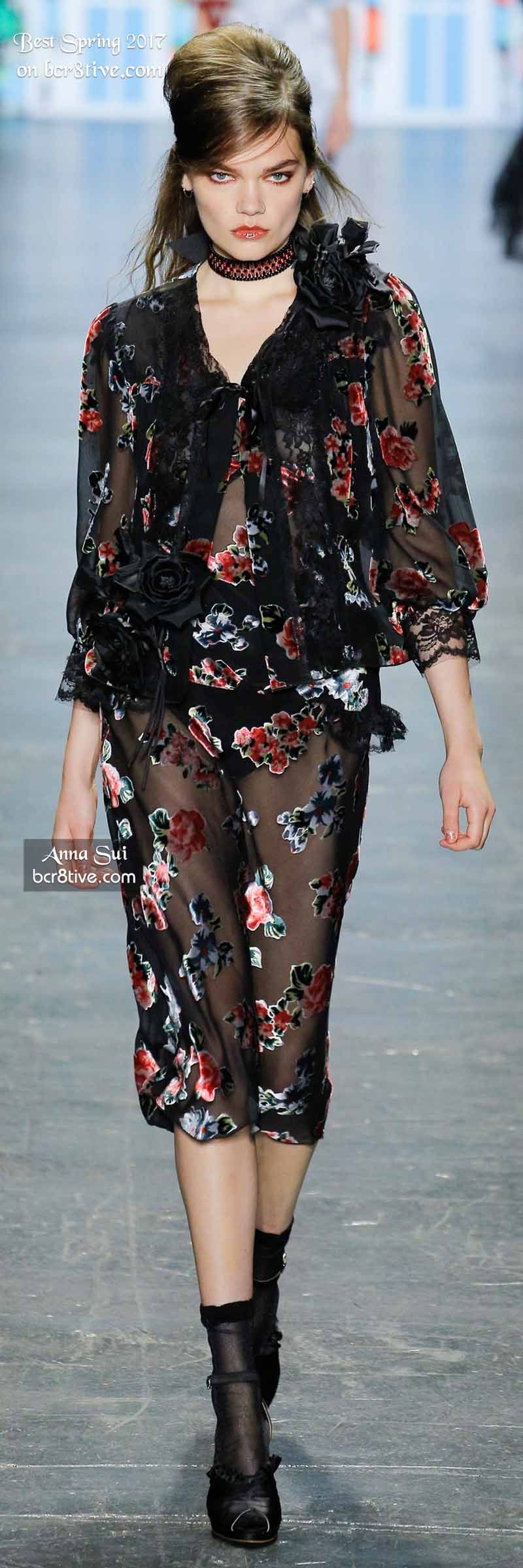 Anna Sui - The Best Looks from New York Fashion Week Spring 2017